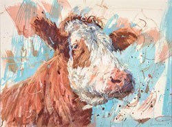 Hereford Profile by James Bartholomew -  sized 27x20 inches. Available from Whitewall Galleries